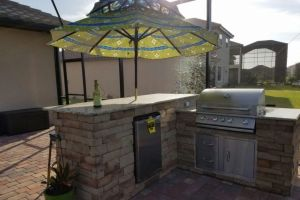 Outdoor Kitchens #002 By Aqua Doc Pool Clinic