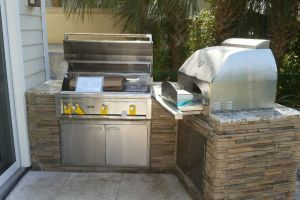 Outdoor Kitchens #003 By Aqua Doc Pool Clinic