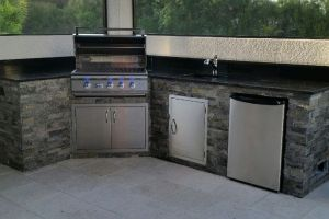 Outdoor Kitchens #005 By Aqua Doc Pool Clinic