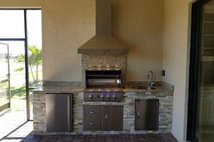 Outdoor Kitchens #006 By Aqua Doc Pool Clinic