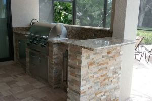 Outdoor Kitchens #007 By Aqua Doc Pool Clinic