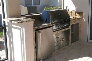 Outdoor Kitchens #009 By Aqua Doc Pool Clinic